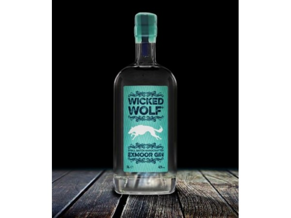WICKED WOLF EXMOOR GIN 70cl, 35cl or 5cl