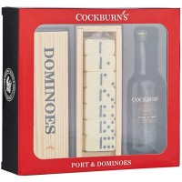 Vintage Marque Cockburn's Special Reserve Port with Dominoes Gift Set 5cl