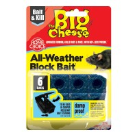 THE BIG CHEESE ALL-WEATHER BLOCK BAIT² - 6X10G