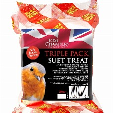 TOM CHAMBERS TRIPLE PACK OF SUET TREATS