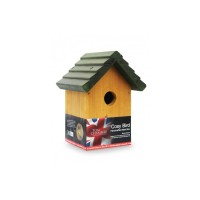 TOM CHAMBERS COSY BIRD HANDCRAFTED NEST BOX