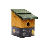 TOM CHAMBERS SNOOZY BIRD HANDCRAFTED NEST BOX