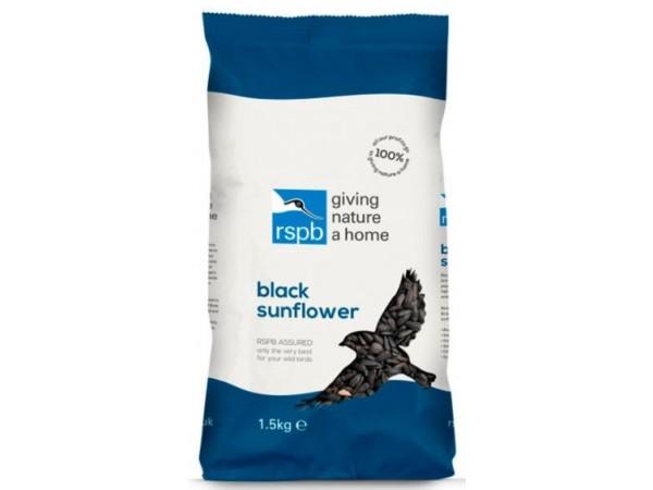 RSPB Black Sunflower Seed 1.5kg