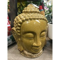 BONSAI LARGE GLAZED BUDDHA HEAD