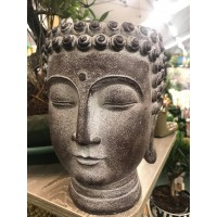 BONSAI LARGE RESIN BUDDHA HEAD PLANTER