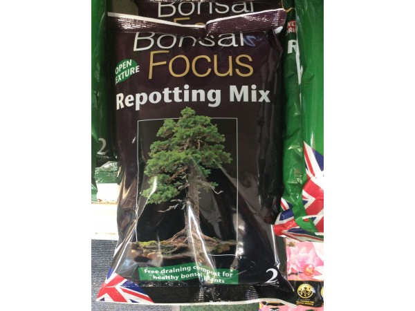 BONSAI FOCUS COMPOST 2ltr