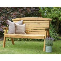 Tom Chambers Hetton Wooden Bench | Large