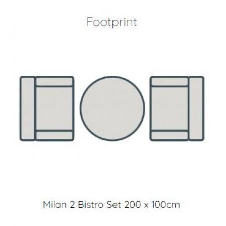 Milan Bistro Set