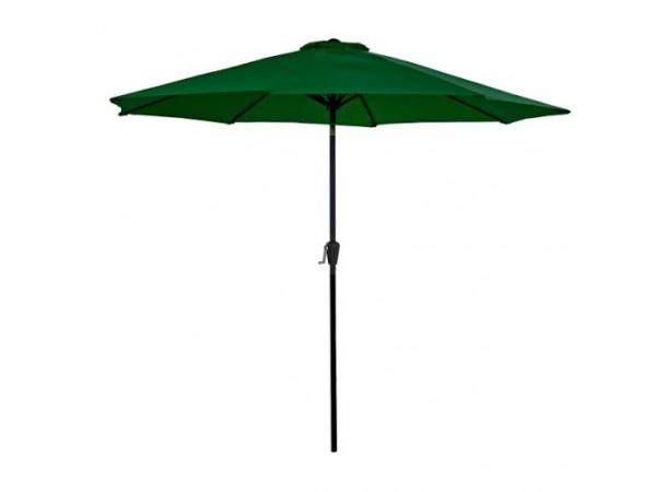 Sturdi 2.5m Round Aluminium Parasol in Green