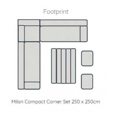 Milan Compact Corner Set