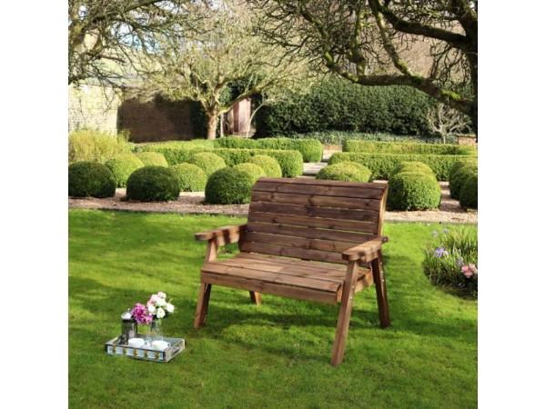 Zest 4 Leisure - Charlotte 2 Seater Garden Bench