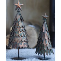 GRAND ILLUSIONS VINTAGE STYLE METAL CHRISTMAS TREE