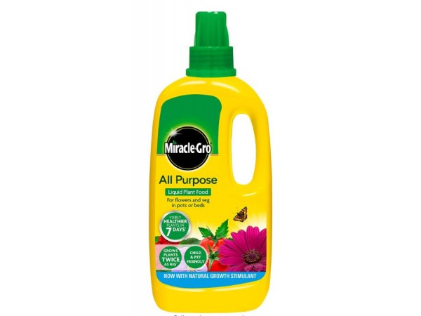 MIRACLE-GRO ALL PURPOSE LIQUID PLANT FOOD 1LTR