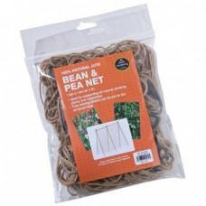 100% NATURAL JUTE BEAN & PEA NET