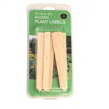 GARLAND 15cm WOODEN PLANT LABELS