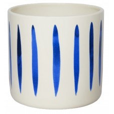 IVYLINE PANZA STRIPED OCEAN COVER POT