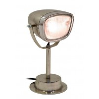 London Ornaments Vespa Table Lamp in Silver