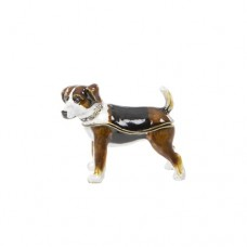 LONDON ORNAMENTS TERRIER TRINKET BOX