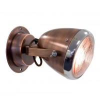 London Ornaments Vespa Wall Light in Copper
