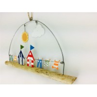 SHOELESS JOE BEACH HUTS AND WASHING WINDOW HANGER