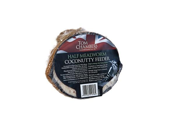 TOM CHAMBERS HALF COCONUTTY FEEDER MEALWORM