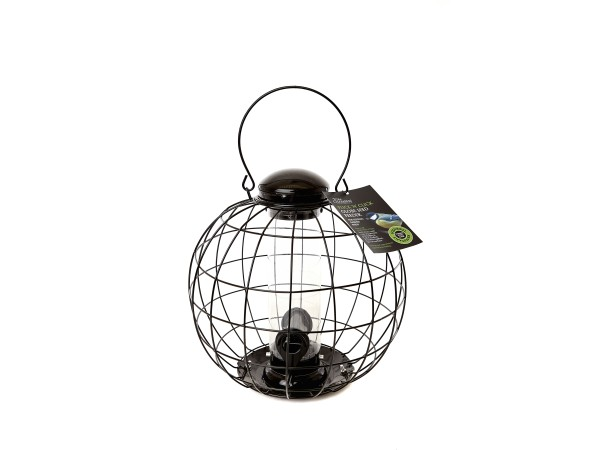 TOM CHAMBERS SQUIRREL PROOF GLOBE SEED FEEDER