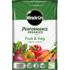 MIRACLE-GRO PERFORMANCE ORGANIC FRUIT & VEG COMPOST