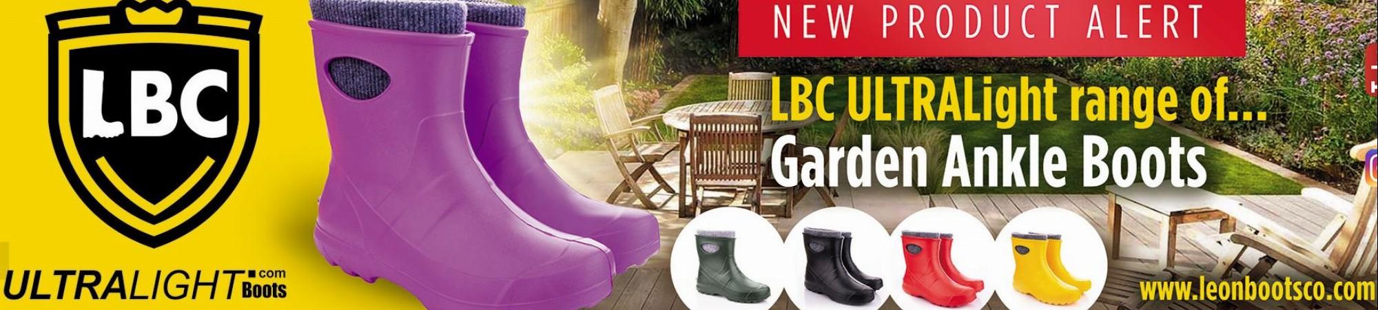 Garden ULTRALight ankle boots