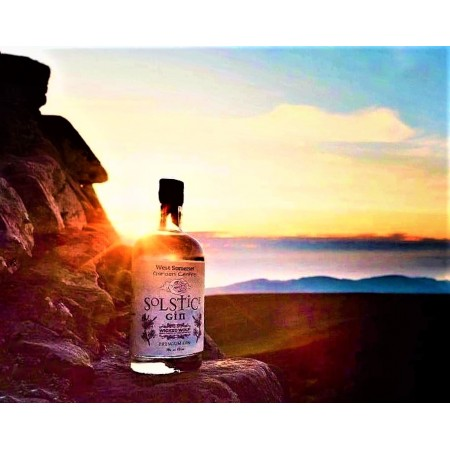 WICKED WOLF EXCLUSIVE NUMBERED SPECIAL EDITION 'SOLSTICE' EXMOOR GIN 70CL LTD EDITION